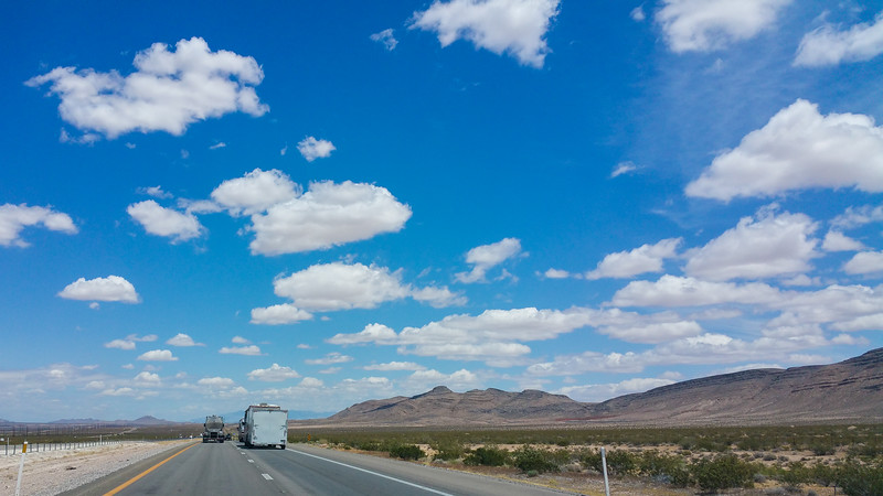 On our way to Mesquite....what a sky!