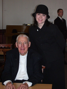 Noelle and Pastor Ian Paisley