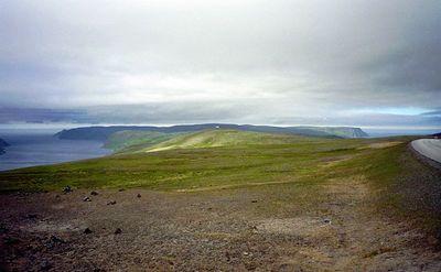 Uitzicht op Noordkaap