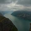 Noorwegen 2005 :  Preikestolen