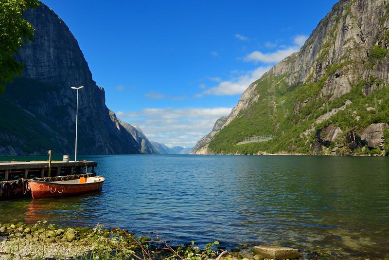 Noorwegen 2005 :   Lysebotn - Roldal