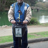On the Golden Gate Park Segway tour in San Francisco.