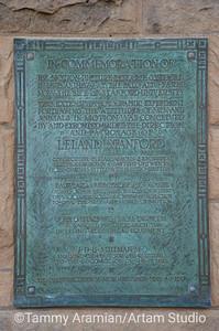 Muybridge motion studies plaque, Main Quad, June 2012