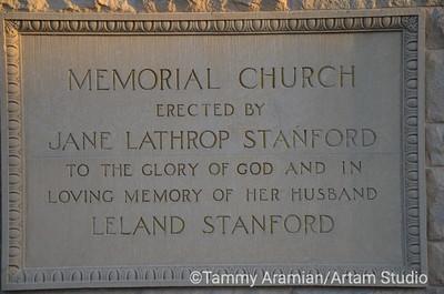 Memorial Church dedication stone, June 2012