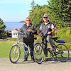 2017-09-22_1795_Diane_Tony_Crystal Cove Resort_Vancouver Island.JPG<br /> <br /> After hauling our bikes from California to Canada, we finally got some use out of them!