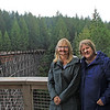 2017-09-19_1598_Elly_Diane_Kinsol Trestle Bridge_Vancouver Island.JPG<br /> <br /> Old buddies - we traveled around Europe together back in 1979 on a Contiki tour!