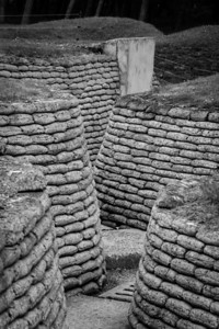 Restored trenches, Mémorial de Vimy