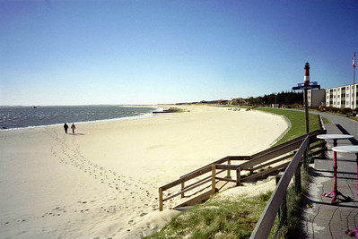 1 ste wandeling Insel Sylt