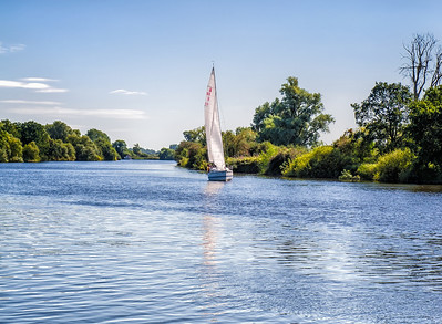 Salhouse Broad, Norfolk, England