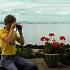 Lennart tar makrobilder med sin Canon FTb