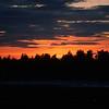 Solnedgång Mora