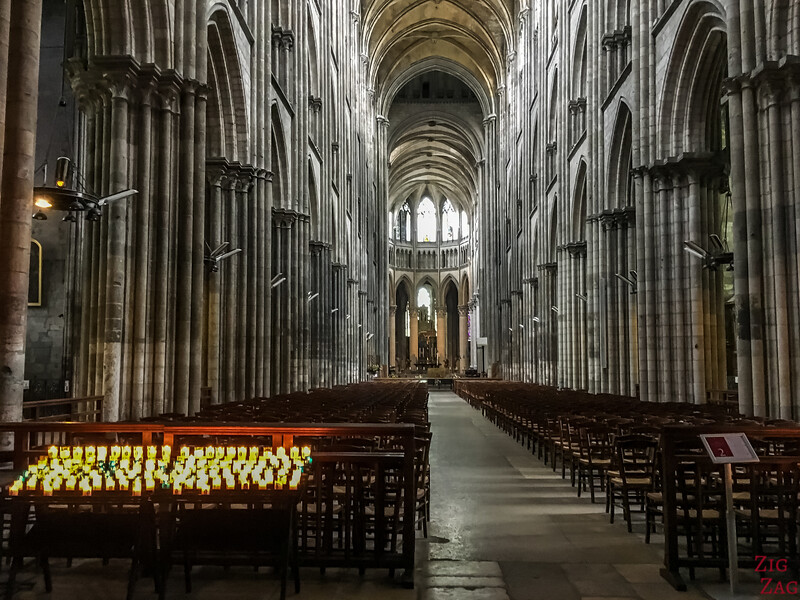 Rouen Cathedral inside