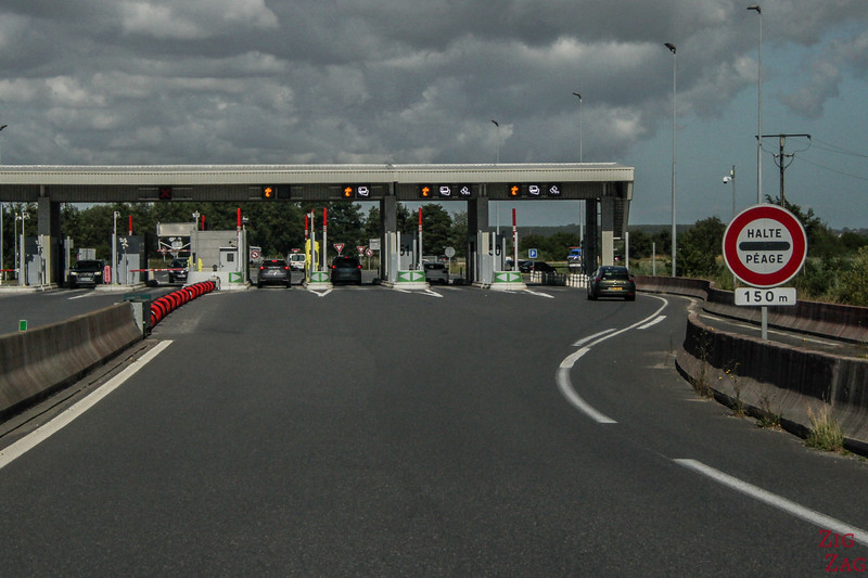 Driving in Normandy - tolls