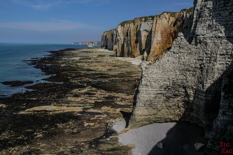 visit the Alabaster coast in Normandy - cliffs 2
