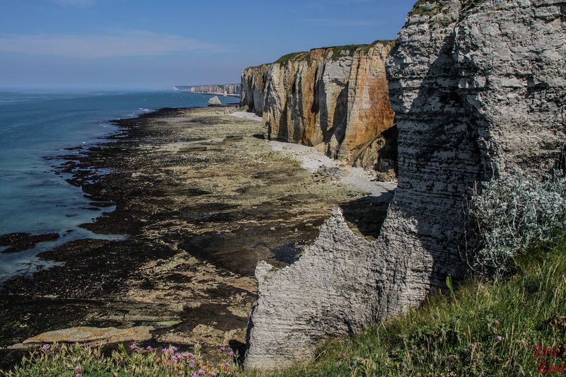 Northern cliffs Etretat hike 3