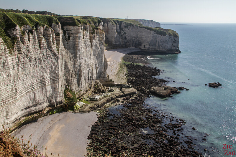 Etretat cliffs - Antifer lighthouse