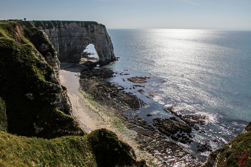 Etretat second arch