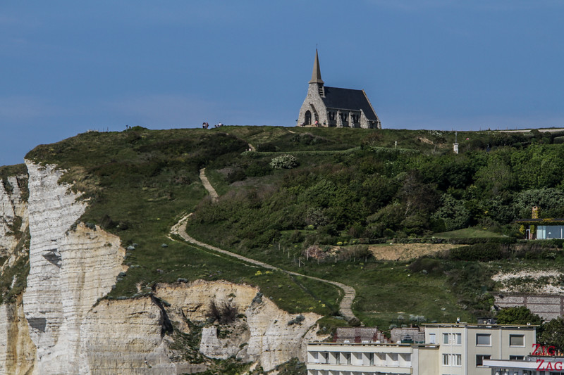 Etretat Northern cliff access 2