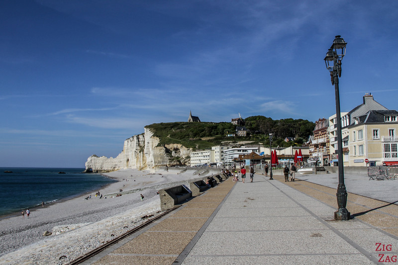 Etretat waterfront