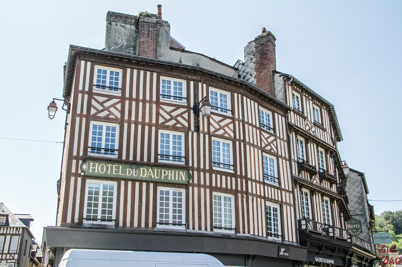 Honfleur hotel traditional