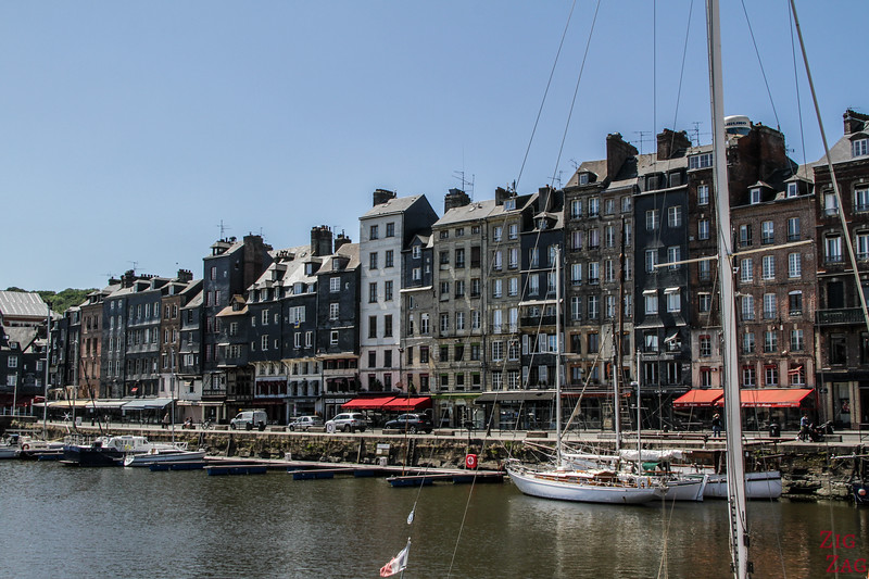 Honfleur old harbor