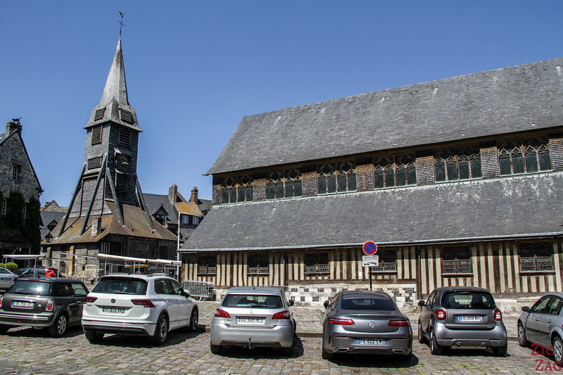 Sainte-Catherine Church in Honfleur 2