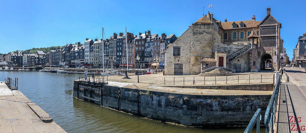 visit Honfleur in Normandy