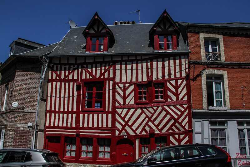 Old town of Honfleur