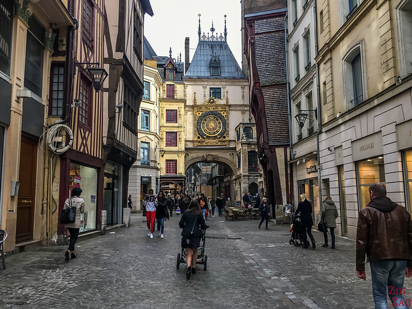 Rouen, excursion from Le Havre