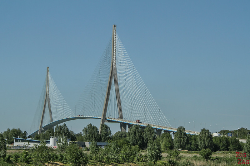 The Normandy bridge