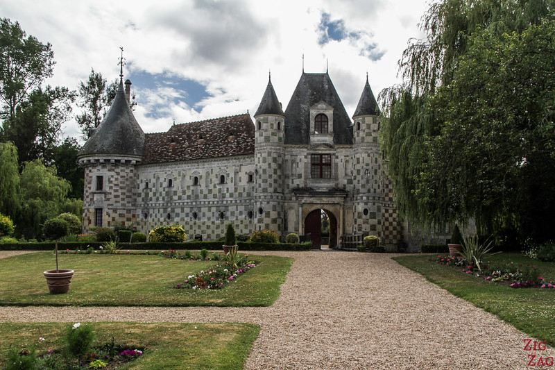 St Germain de Livet castle