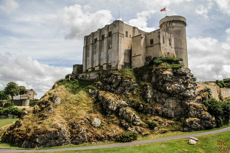 "Falaise Castle ""William the Conqueror"""