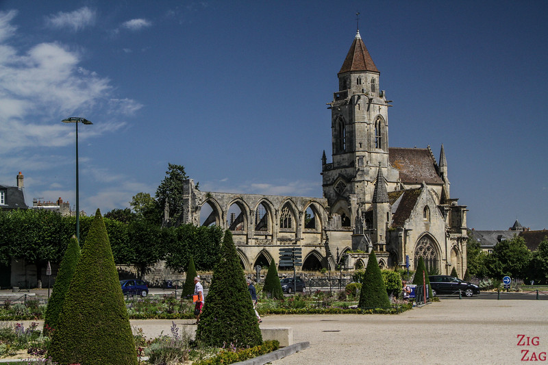 Old St. Stephen's Kirche in Caen