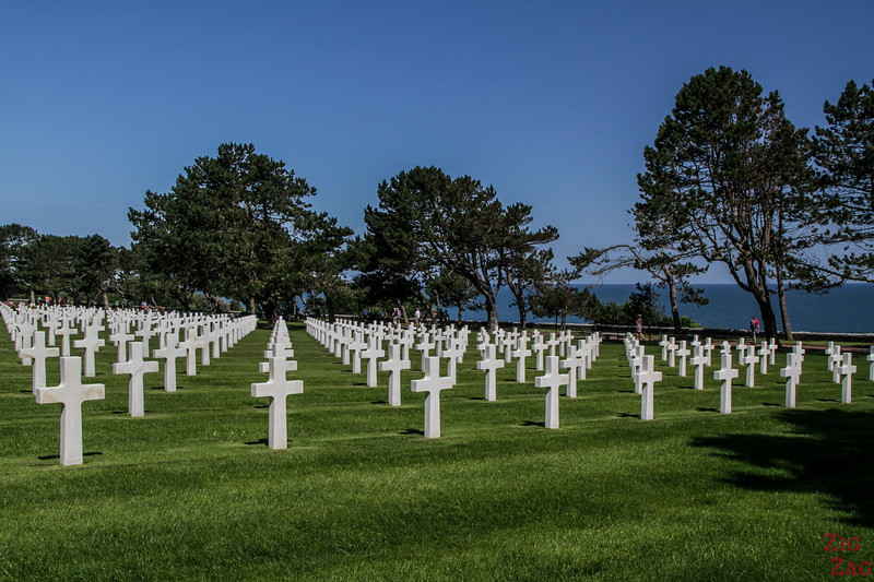 WWII US cemetery NOrmandy