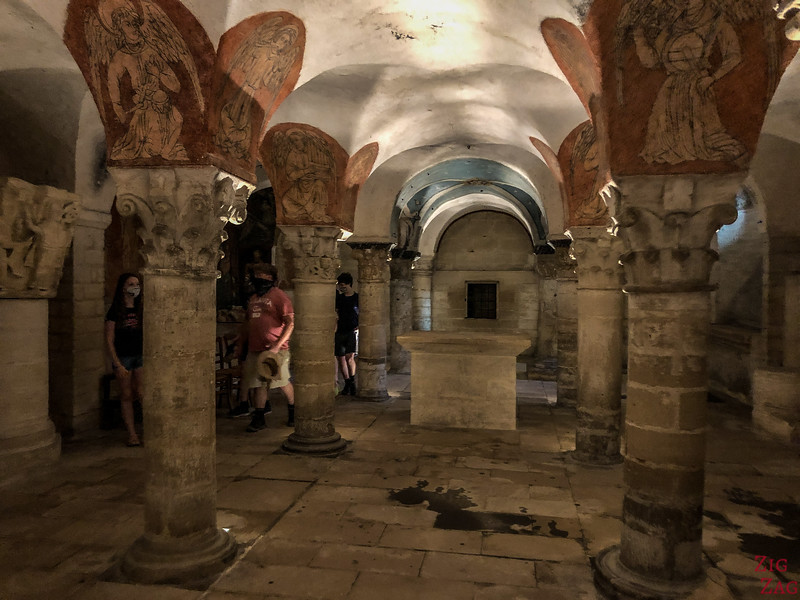 Bayeux Cathedral crypt