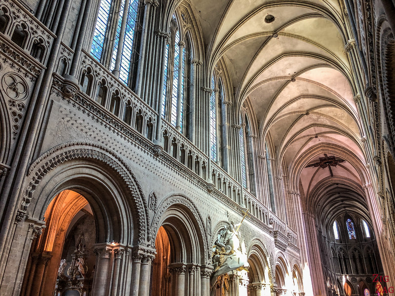 Bayeux Cathedral nave
