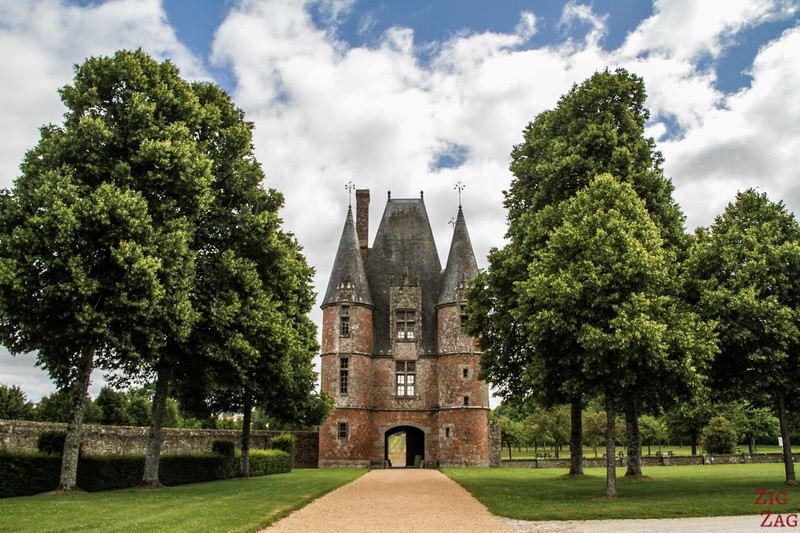Carrouges Castle in Orne