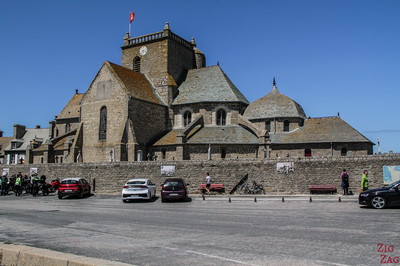 Barfleur church
