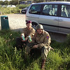 Doing what paratroopers do best - drink beer :)<br /> <br /> Tinie v Schoor.