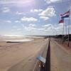 Omaha Beach looking East.