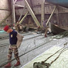 "Packing the parachutes at the WWI hanger in Ecausseville. <br /> <br /> <a href=""http://translate.google.com/translate?hl=en&sl=fr&u=http"">http://translate.google.com/translate?hl=en&sl=fr&u=http</a>://fr.wikipedia.org/wiki/Hangar_%25C3%25A0_dirigeables_d'%25C3%2589causseville&prev=/search%3Fq%3Decausseville%2Bdirigeable%26rlz%3D1T4TSNP_enUS493US493"