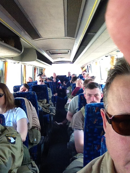 Bus to the Cherbourg airport.