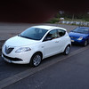 "The rental car. Lancia Ypsilon. I also thought, ""Why?"""