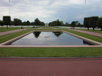 Normandy Cemetery in France