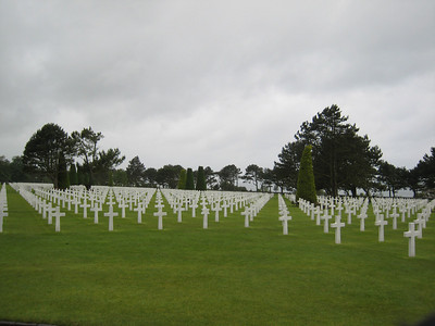 Continuing the theme of those who sacrificed their future, this is taken at the American Cemetery near the D Day invasion beaches.