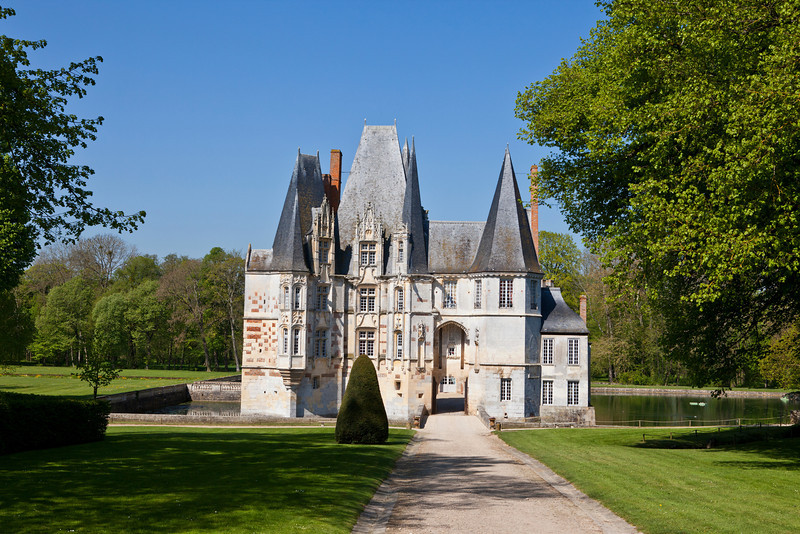 Chateau d'O, Normandy, France