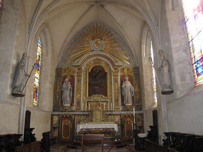 St Mere Eglis interior
