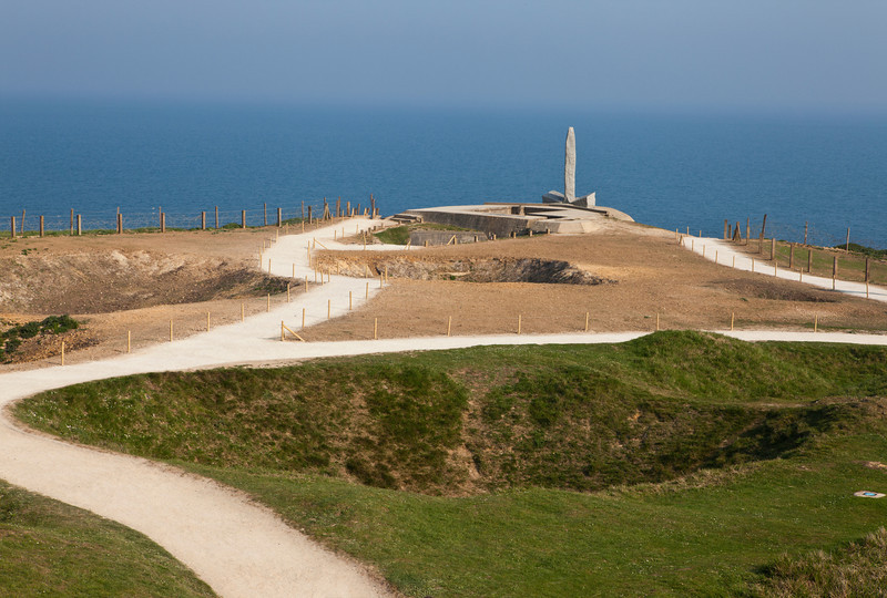 Pointe du Hoc Memorial - Normandy, France