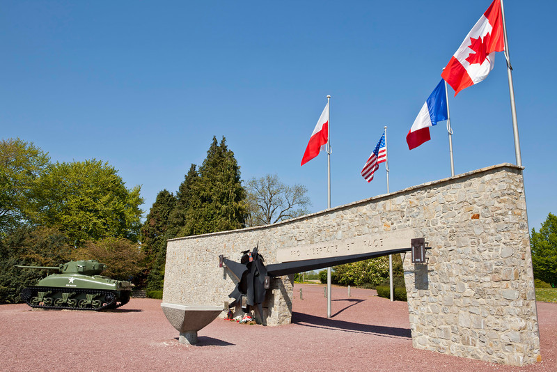 Monument and memorial of Montromel