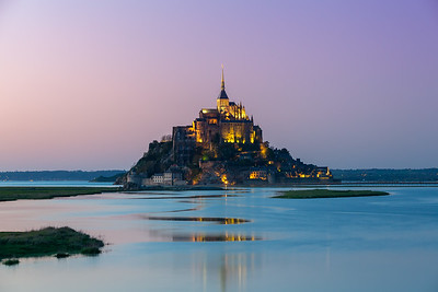 Mont Saint Michel, Normandy, 2018